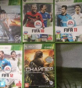 Лиц. Диски Xbox 360
