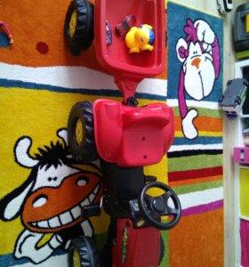 Детский трактор Rolly Toys в отличном состоянии