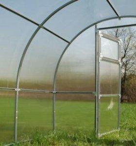 Теплицы из поликарбоната 3х6 оцинкованная