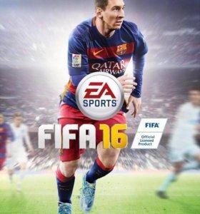 Продам FIFA 16 на Xbox 360