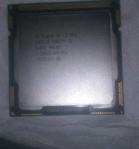 Процессор i3 550 + боксовый куллер