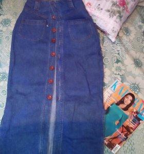 Юбка джинсовая 42-46 р