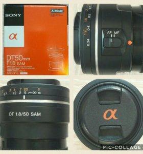 Объектив Sony SAL50F1.8 DT 1.8/50 SAM