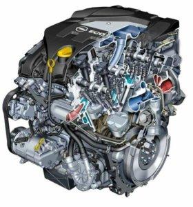 Двигатель с навесным Opel