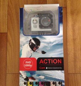 Экшен камера 1080 FHD