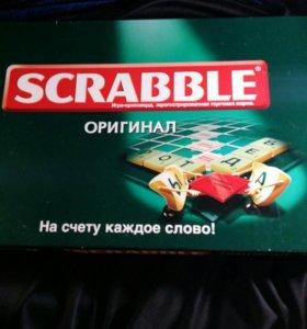 """Настольная игра""""Scrabble""""."""