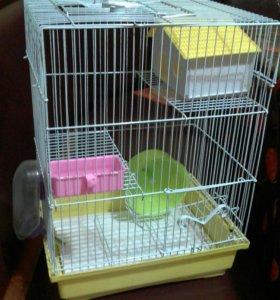 Клетка для дом. грызунов