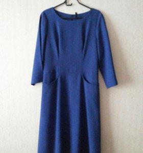 Синее платье Marlen