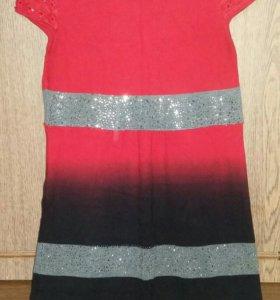 Платье-туника 50-52