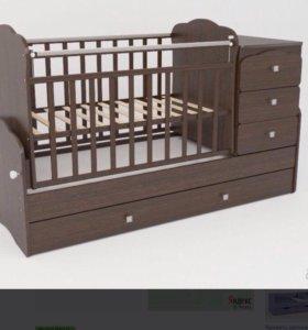 Кроватка детская трансформер