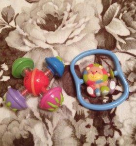 Игрушки-погремушки-веселушки