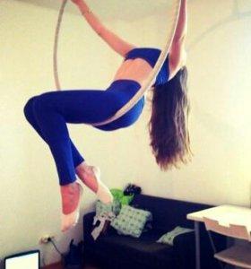 Тренировки на цирковом кольце
