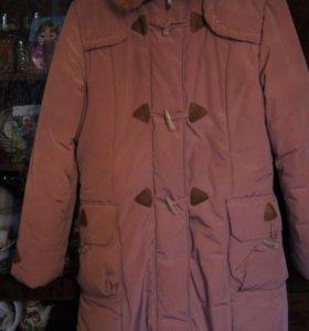 Зимнее пальто на девочку 12-13 лет