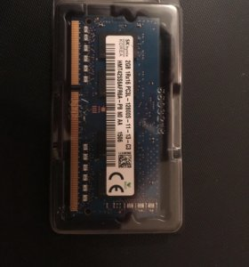 DDR3 оперативная память 2GB