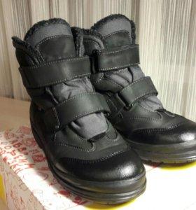 Ботинки зимние мальчиковые, размер 40.
