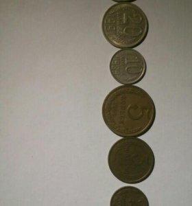 Советский набор монет