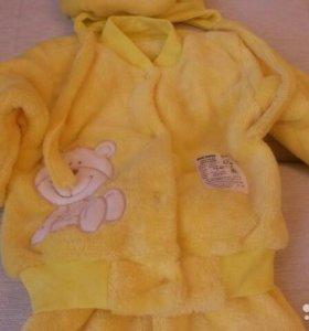 Теплый костюм для детей