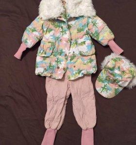 Осенний костюм Orby для девочки