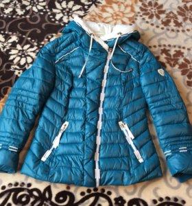 Зимняя куртка 46-48.