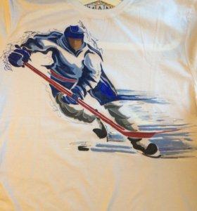 Рисунок ручная роспись футболок