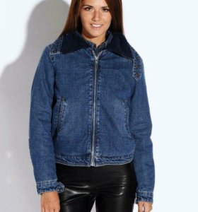 Новая джинсовая куртка befree 42