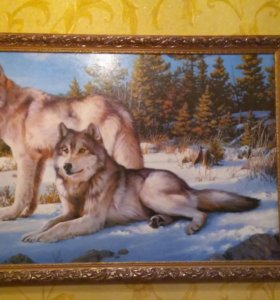 """Картина""""Северные волки"""""""
