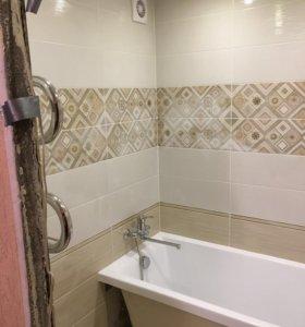 Ремонт ванной комнаты за две недели!!!