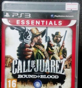 Call of Juarez bound in blood на PS3