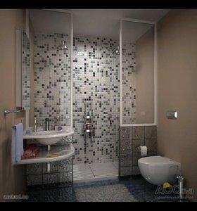 Ремонт ванных под ключ👌🏿