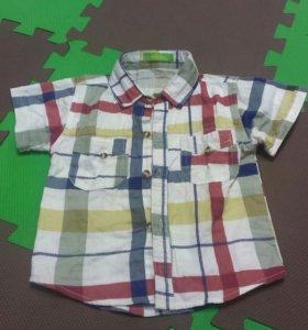 Рубашка на мальчика р.86-92