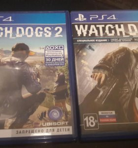 Watch dogs 2 и Watch dogs