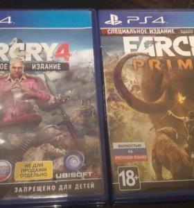 Far cry primal и Far cry 4 на ps4