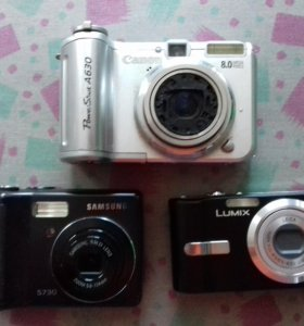 Фотоаппараты на запчасти