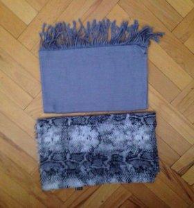 Красивые шарфики и платочки. Читайте описание