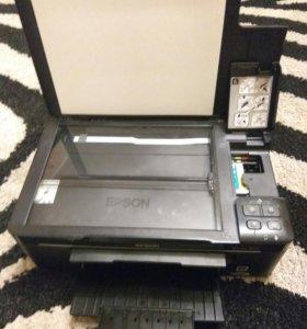Цветной принтер,сканер EPSON