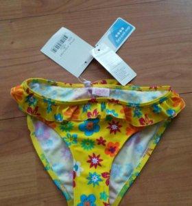 Новые плавки для девочки