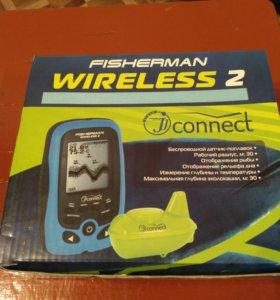 Эхолот fisherman wireless 2