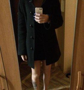 Драповое весеннее пальто