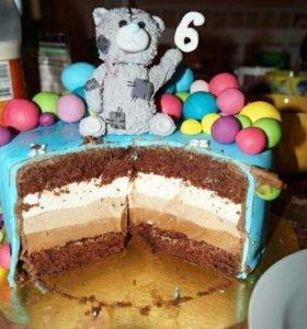 А вот и фотоотчёт 😊 начинка 3 шоколада
