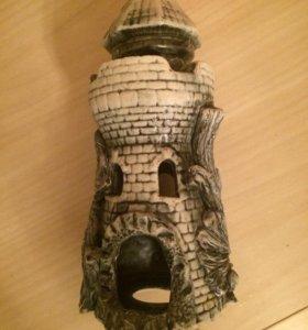 Грот-башня(замок для аквариума)