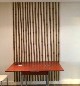 Декоративные композиции из бамбука.