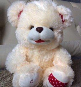 Мягкая игрушка новая мишка музыкальный медведь