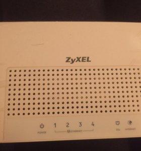 Switch router zyxel 4-port роутер