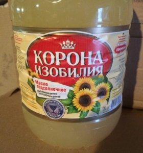 Масло подсолнечное в\с, 1\с в бутылях