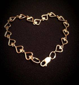 Продам браслет золотую