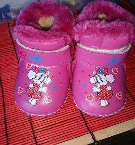 Обувь ботинки зима