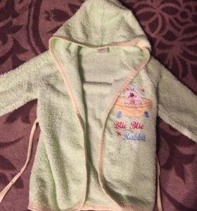 Детский халат на 1-2 года
