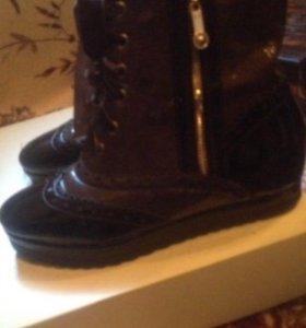 Новые весенние ботинки