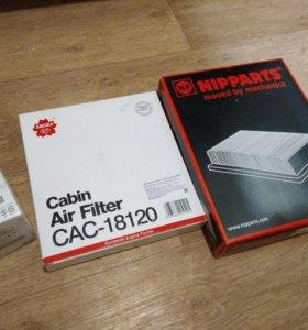Новые фильтра для ТО Mitsubishi