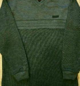 Джемпер, рубашка, джинсы 152, 158-164